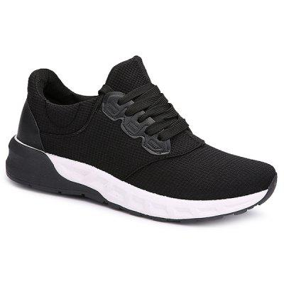 Mesh Tie Up Athletic Shoes