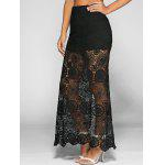 High Waist See-Through Lace Bodycon Skirt for sale