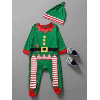 Christmas Clothes Kids Jumpsuit