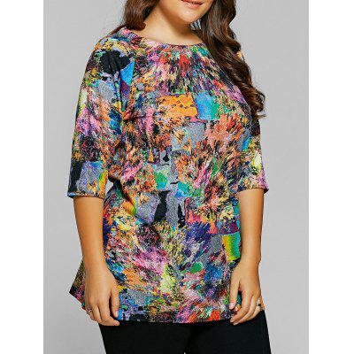 Tie-Dyed Half Sleeves T-Shirt