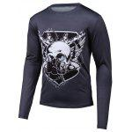 Buy BLACK, Apparel, Men's Clothing, Men's T-shirts, Men's Long Sleeves Tees for $14.27 in GearBest store