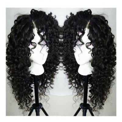 Long Curly Side Parting Wig
