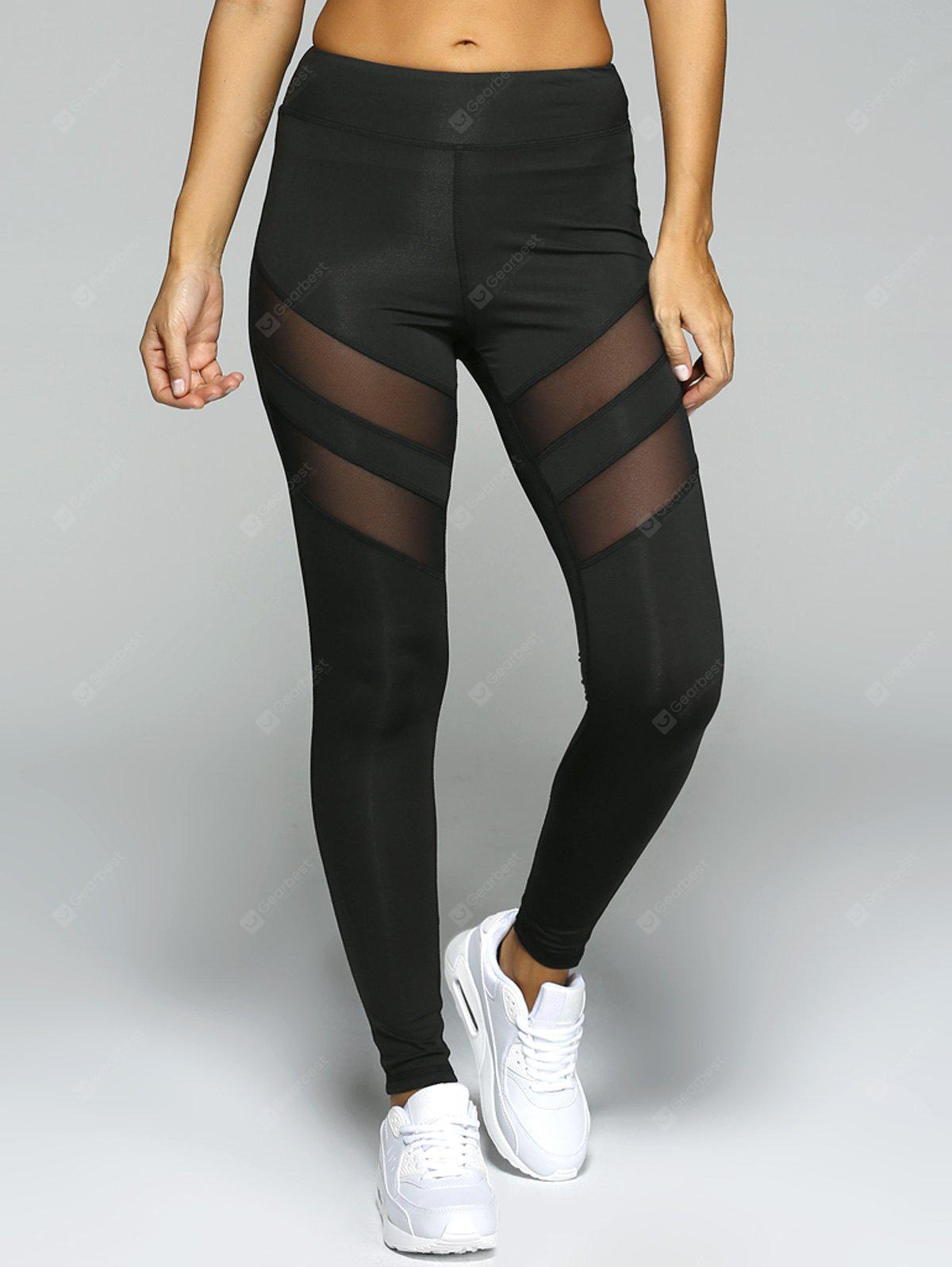 See-Through Tight Sport Running Leggings
