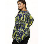 Paisley Knitted Asymmetrical Pullover deal