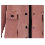 Pocket Design Suede Topstitching Jacket deal