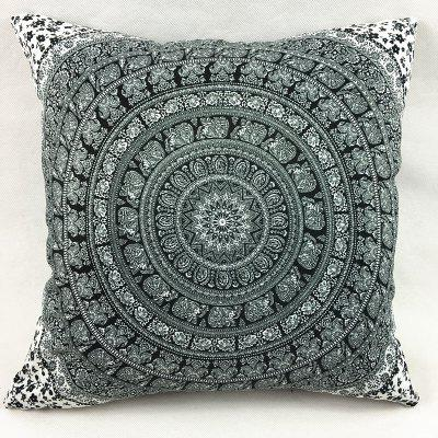Indian Elephant Totem Double-Faced Pillowcase