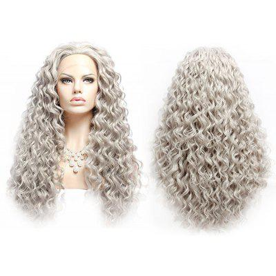 Long Fluffy Curly Lace Front Synthetic Wig