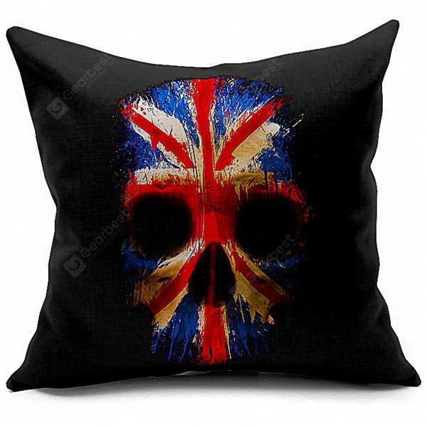 High Quality Skeleton Printed Pillow Case