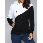 Buy WHITE AND BLACK, Apparel, Women's Clothing, Sweatshirts & Hoodies for $18.85 in GearBest store