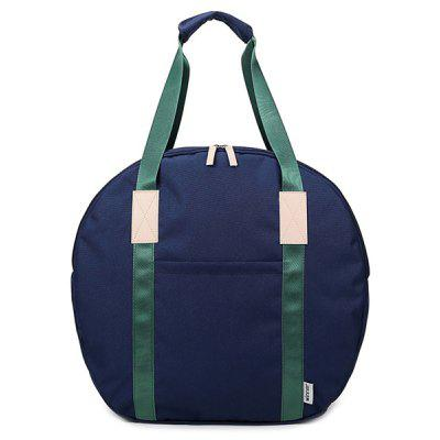 Round Shape Canvas Tote Bag