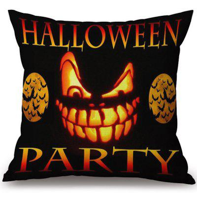 Buy COLORMIX Soft Happy Halloween Party Printed Decorative Pillow Case for $7.10 in GearBest store