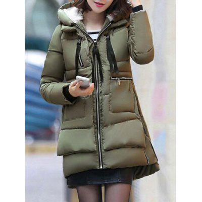 Hooded Puffer Cappotto