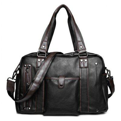 Metallic Vintage Casual Briefcase
