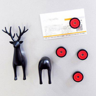 Cartoon Sika Deer Powerful Fridge Magnet