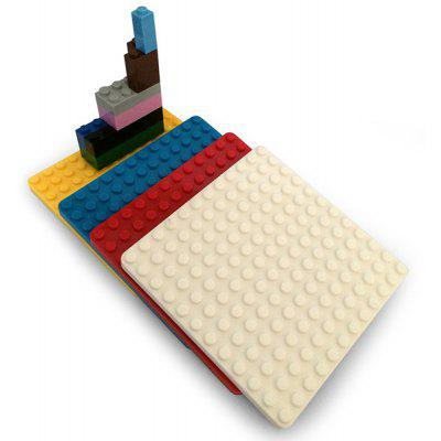 DIY Silicone Building Blocks Assembled Cup Mats