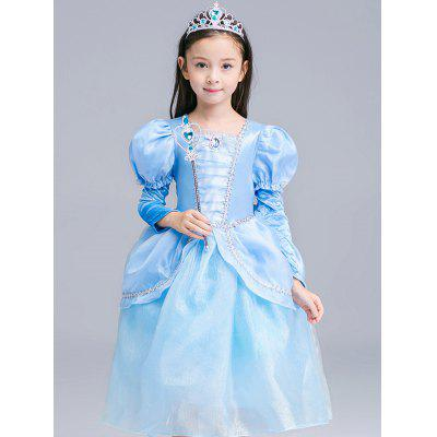 Fairy Tale Dress Kids Halloween Princess Cosplay DressGirls Clothing<br>Fairy Tale Dress Kids Halloween Princess Cosplay Dress<br><br>Dresses Length: Mid-Calf<br>Embellishment: Bowknot<br>Material: Polyester<br>Neckline: Round Collar<br>Package Contents: 1 x Dress  1 x Gloves<br>Pattern Type: Patchwork<br>Season: Summer<br>Silhouette: Ball Gown<br>Sleeve Length: Short Sleeves<br>Style: Novelty<br>Weight: 0.375kg<br>With Belt: No