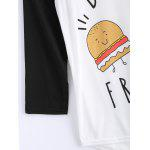 best Cartoon Pattern High Low T-Shirt