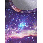 Round Neck 3D Print Galaxy T-Shirt deal