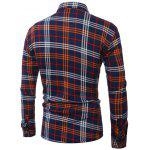 Plus Size Pocket Turn-Down Collar Long Sleeve Shirt deal