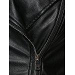 best Eyelet Embellished Biker Jacket