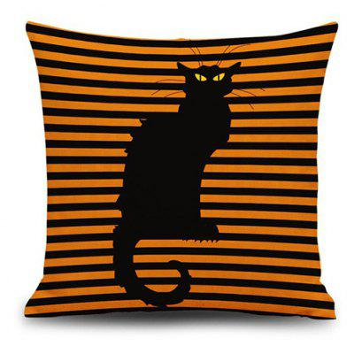 Cat Pattern Sofa Pillow Case