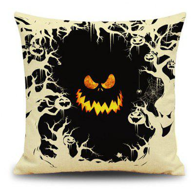 Halloween Monster Face Design Cushion Pillow Case