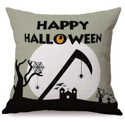 Buy COLORMIX Antibacteria Happy Halloween Sofa Cushion Printed Pillow Case for $6.82 in GearBest store