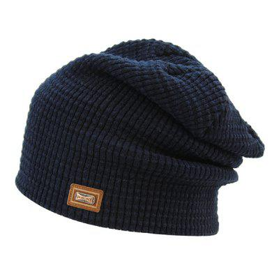 Warm Label Double-Deck Knit Ski Hat