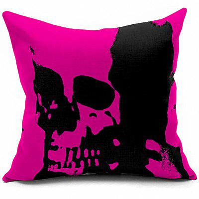 Abstract Skeleton Printed Sofa Cushion Pillow Case