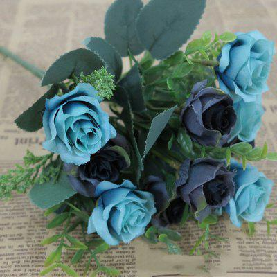 Wedding Party 10 Heads Artificial Rose Flower