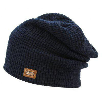 Warm Etichetta Double-Deck Cappello del Pattino Knit
