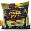 Halloween Zombie Party Printed Pillow Case - COLORMIX