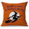 Halloween Witches Party Sofa Cushion Printed Pillow Case - COLORMIX