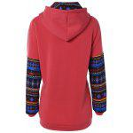 cheap Geometric Pattern Thick Hoodie