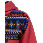 Geometric Pattern Thick Hoodie deal