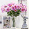 2 Heads Real Touch Home Decoration Artificial Flower - PURPLE