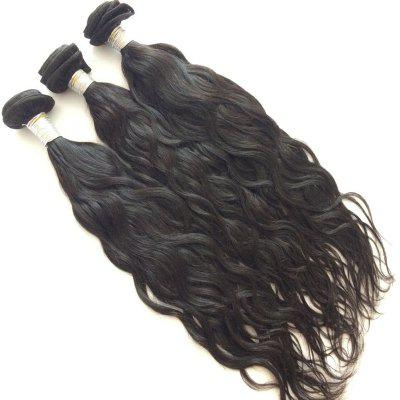 3 Pcs Pure Color Natural Wave 5A Remy Indian Hair Weaves