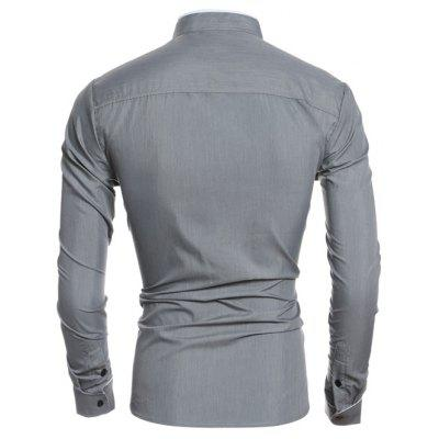 Edging Design Long Sleeve Grandad Chinese Collar ShirtMens Shirts<br>Edging Design Long Sleeve Grandad Chinese Collar Shirt<br><br>Collar: Stand Collar<br>Material: Cotton, Polyester<br>Package Contents: 1 x Shirt<br>Shirts Type: Casual Shirts<br>Sleeve Length: Full<br>Weight: 0.163kg