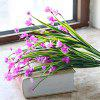 Simulation Butterfly Orchid Decoraton Artificial Flower - PURPLISH RED
