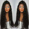 Long Side Parting Curly Lace Front Human Hair Wig 11027