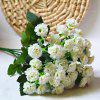 1 Bouquet Lilac Wedding Bridal Artificial Flower - WHITE