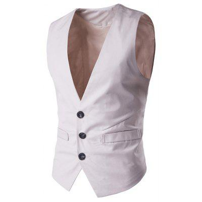 Buckle Back Single Breasted Waistcoat