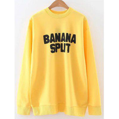 Oversized Banana Split Sweatshirt