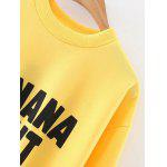 Oversized Banana Split Sweatshirt deal