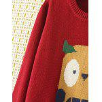 Cartoon Jacquard Knit Sweater deal