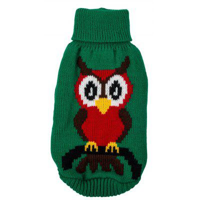 Owl Sweater Clothes Puppy Apparel Costumes