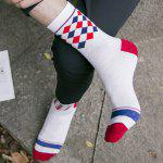One Set Stripe Star Rhombus British Flag Pattern Socks for sale