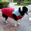 Winter Waterproof Warm Pet Dog Waistcoat Clothes - RED