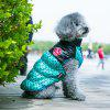 Winter Vest Harness Waistcoat Clothes For Pet Dog - BLUE
