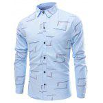 Buy LIGHT BLUE, Apparel, Men's Clothing, Men's Shirts for $20.36 in GearBest store